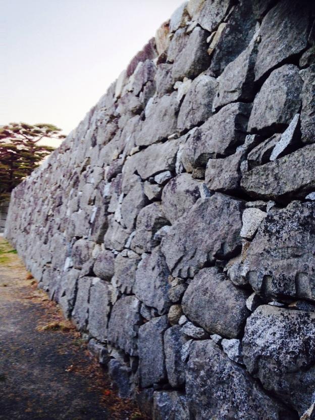 城壁. Stone of a castle. #japan